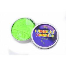 Inteligentná plastelína - svietiaca - zelená