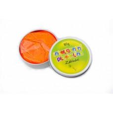 Inteligentná plastelína - základna - oranžová
