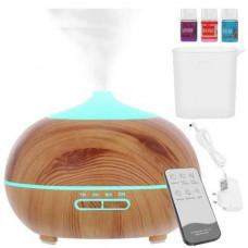 Aroma difuzér - zvlhčovač vzduchu na  diaľkové ovládanie, 300ml