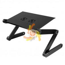 Nastaviteľný stojan pod notebook s ventilátorom Got672c