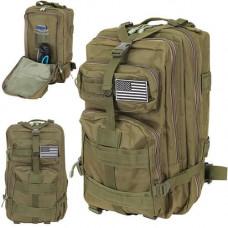 Zelený batoh Military XL IS8920, 35L