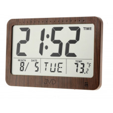 Digitálne hodiny s budíkom JVD DH9711, 19 cm