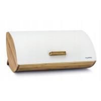 Bambusový chlebník KonigHOFFER Cosmic, biely