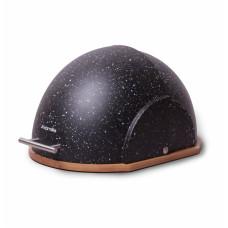 Chlebník Kamille KM1106 Galaxy, čierny mramor