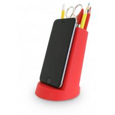 Kancelársky stojanček J-ME Lean Desk Tidy, červený