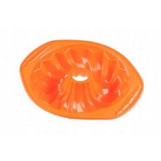 Forma na bábovku zo silikónu Kinghoff KH-4651, oranžová
