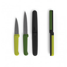 Kompaktná sada nožov JOSEPH JOSEPH Twin Slice ™