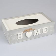 Krabička na papierové vreckovky, Srdiečka, D085