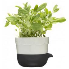 Kvetináč SAGAFORM Green, zelený
