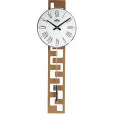 Kyvadlové hodiny MPM 3186.53 svetlé drevo, 71cm