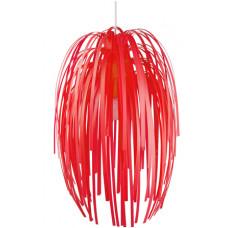 Luster Silly červený, 61cm