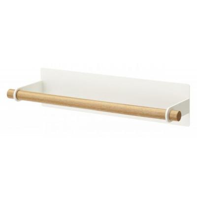 Magnetický držiak role papierových utierok Yamazaki Tosca, biely