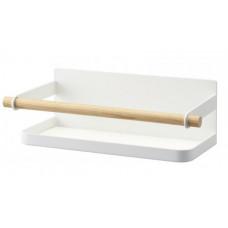 Magnetická polička na koreničky Yamazaki Tosca, biela