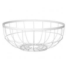 Misa na ovocie Fruit basket open grid, biela