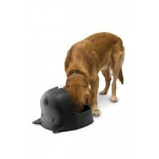 Miska pre psa Qualy Mr.Dog, čierna
