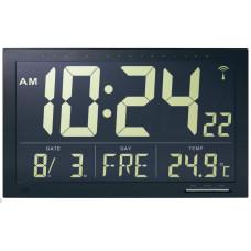 Multifunkčné digitálne nástenné DCF hodiny 37cm