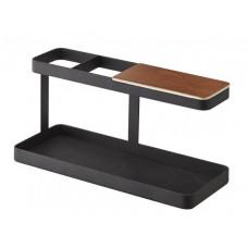Multifunkčný stojanček Yamazaki Tower Desk Bar, čierny