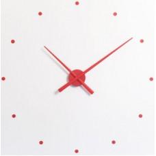 NOMON OJ Designové nástenné hodiny  červené 50cm