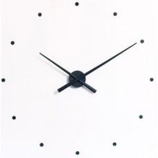 NOMON OJ Dizajnové nástenné hodiny čierne 50cm