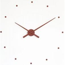 NOMON OJ Dizajnové nástenné hodiny čokoláda 50 cm