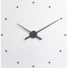 NOMON OJ Dizajnové nástenné hodiny grafitové 50cm