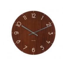 Nástenné/ stolné hodiny KA5617dw, Karlsson Wood small light, 17cm