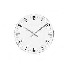 Nástenné/ stolné hodiny KA5615WH, Karlsson Slim Index small