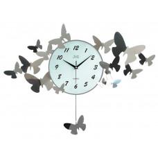 Nástenné designové hodiny JVD HJ01 72x34 cm