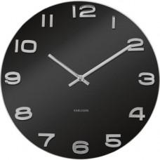 Nástenné hodiny Karlsson 4401 Vintage čierne 35cm