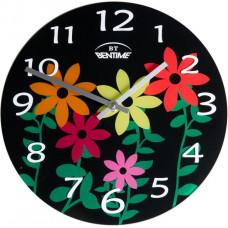 Nástenné hodiny  Bentime AR295B Kvet