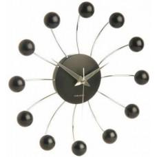 Nástenné hodiny 5204BK Karlsson 50cm