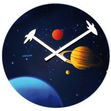Nástenné hodiny Karlsson Vesmír 40cm
