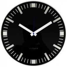 Nástenné hodiny Basilea čierne 40cm