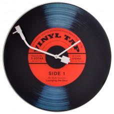 Designové nástenné hodiny 8141 Nextime Vinil Tap 43cm