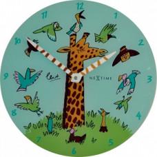 Nástenné hodiny 8811 Nextime Giraffe Joy 30cm