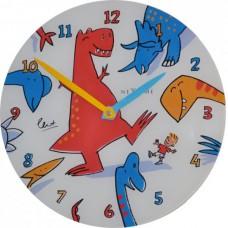 Nástenné hodiny 8813 Nextime Dino Dance 30cm