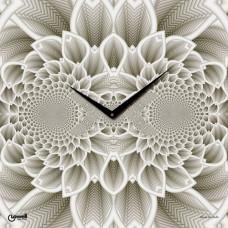 Nástenné hodiny Lowell 07402 Flora Design 50cm