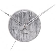 Nástenné hodiny 5535GY Karlsson 14cm