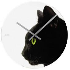 Nástenné hodiny 4474 Karlsson, Furry Friends Kitty, 40cm