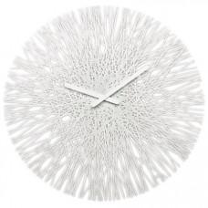 Nástenné hodiny Koziol SILK biela, 45cm