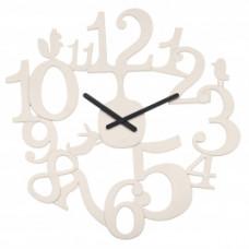 Nástenné hodiny Koziol PI:P šedobéžová, 45cm
