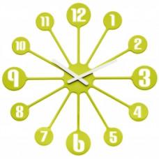 Nástenné hodiny PINBALL, Koziol, horčicová 45cm