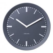 Nástenné hodiny 5512GY Karlsson 28cm