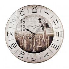 Nástenné hodiny Lowell 21416 60cm