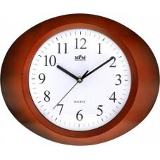 Nástenné hodiny MPM, 2810.50 - hnedá, 33cm