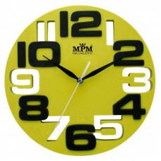 Nástenné hodiny MPM, 3064.40 - zelená, 25cm