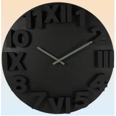 Nástenné hodiny 3D Numbers, 34cm