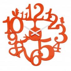Nástenné hodiny PI:P mandarinkova, 45cm