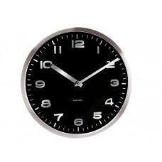 Nástenné hodiny Karlsson 5373BK 29cm