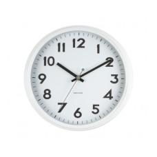 Nástenné hodiny KA5610WH, Karlsson, Badge, 38cm